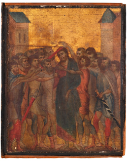 Cimabue lost painting
