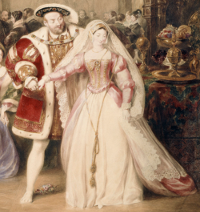 King Henry VIII and Anne Boleyn