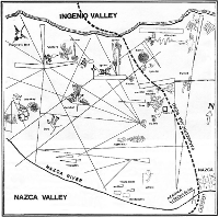 Small map of Nazca Lines