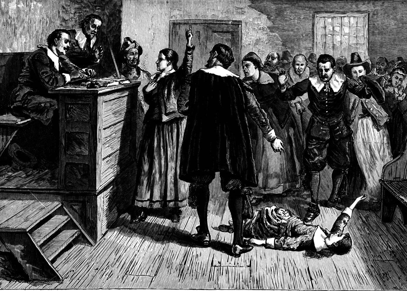 an overview of the history of witchcraft in the 17th century new england A fever in salem: a new interpretation of the new england witch trials  a brief  introduction to the witchcraze in seventeenth-century new england chapters 2.
